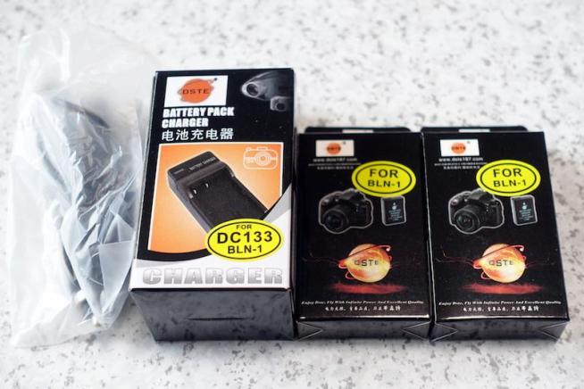 DSTE BLN-1 互換バッテリーと充電器