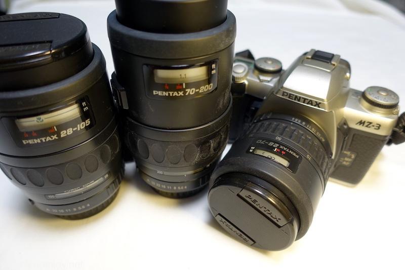 フィルム一眼レフカメラ PENTAX MZ-3 がやって来た! アナログAFカメラだけど現在の操作系とよく似ていて使いやすい