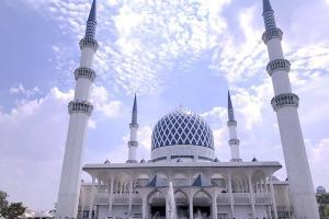 スルタン・サラディン・アブドゥル・アジズ・モスク Sultan Salahuddin Abdul Aziz Mosque(ブルーモスク)