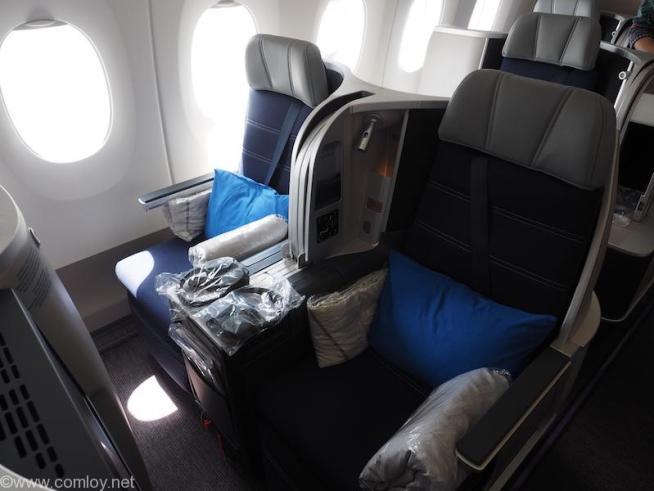 マレーシア航空ビジネスクラス