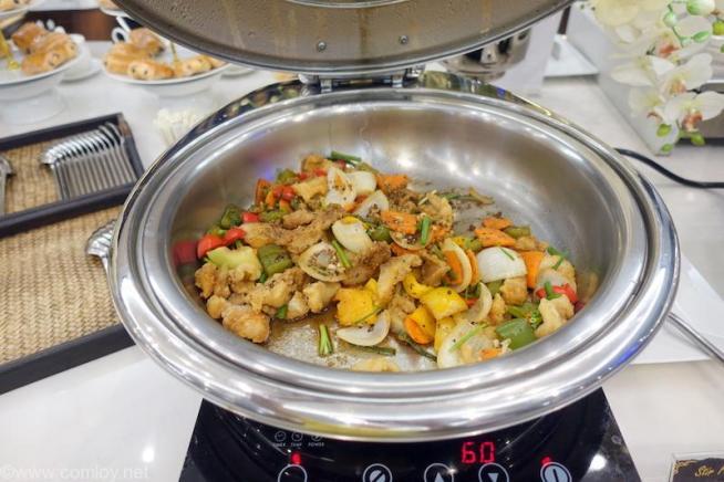 ドンムアン空港(Bangkok Don Mueang Intl) The Coral Executive Lounge buffet_3