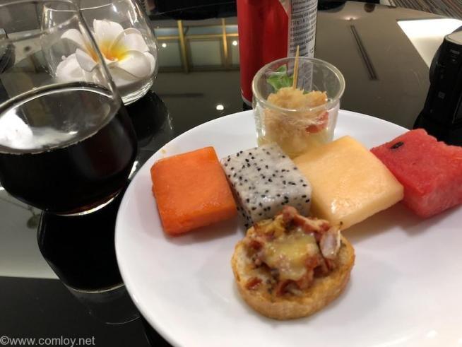 ドンムアン空港(Bangkok Don Mueang Intl) The Coral Executive Lounge buffet デザート