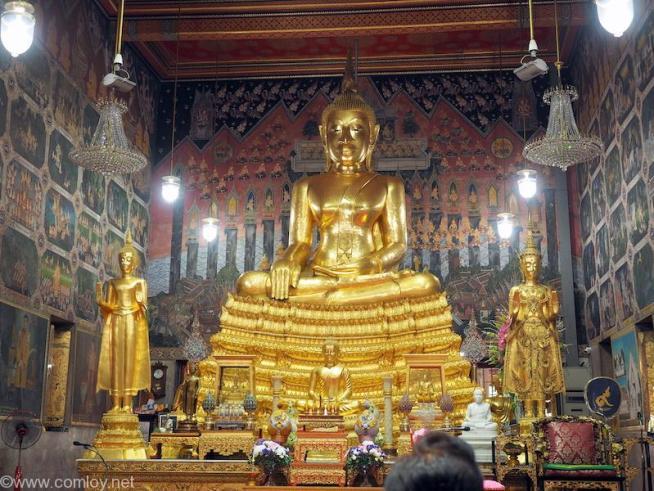 Wat Pak Nam(ワット・パクナム)仏像