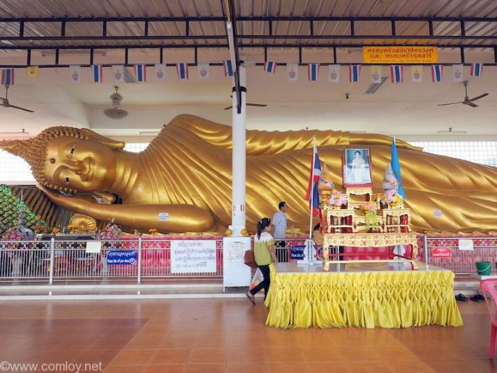 「Wat Worachanyawat(ワット・ウォラチャンヤワート)」涅槃像