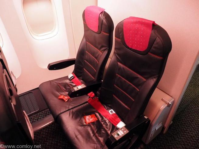 日本航空 エコノミークラス