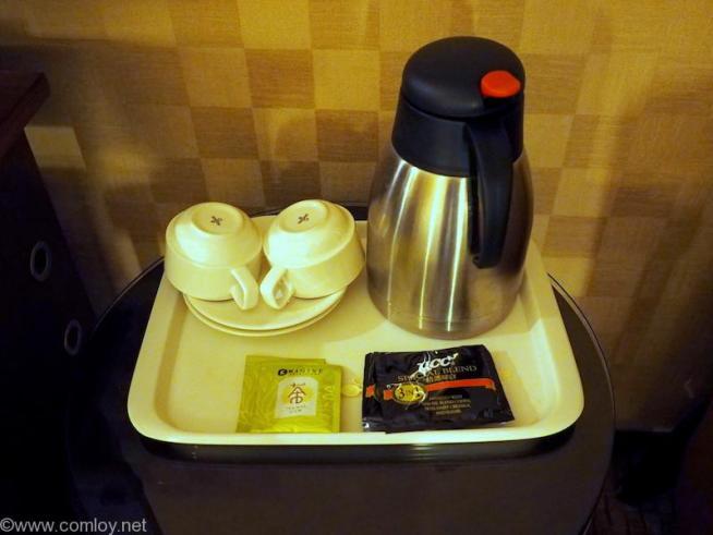 EAST DRAGON HOTEL(東龍大飯店)コーヒーセット
