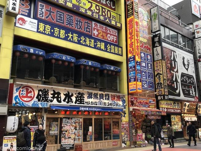 新宿西口エリア iphone8 plus で撮影