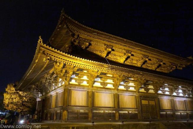 東寺ライトアップ 金堂