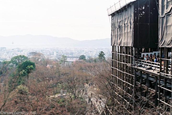 清水寺 清水の舞台 (Film PENTAX ME Super +50mm)