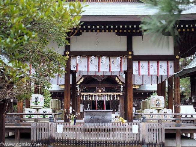御霊神社 拝殿