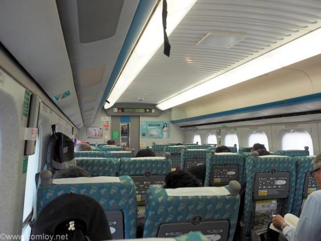 台湾新幹線車内