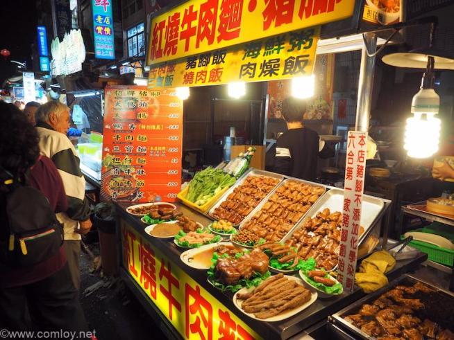 台湾 高雄 六合夜市 牛肉麺
