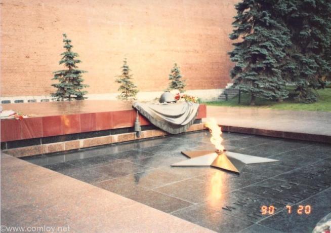 1990年当時のレーニン廟
