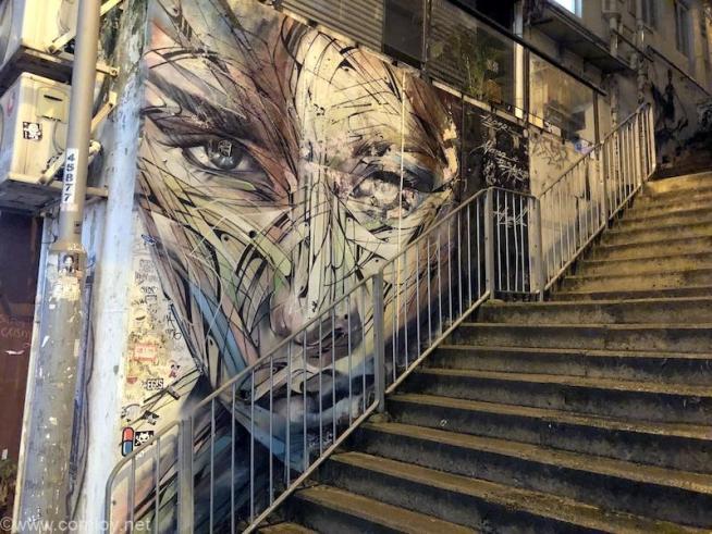 香港 ストリートアート