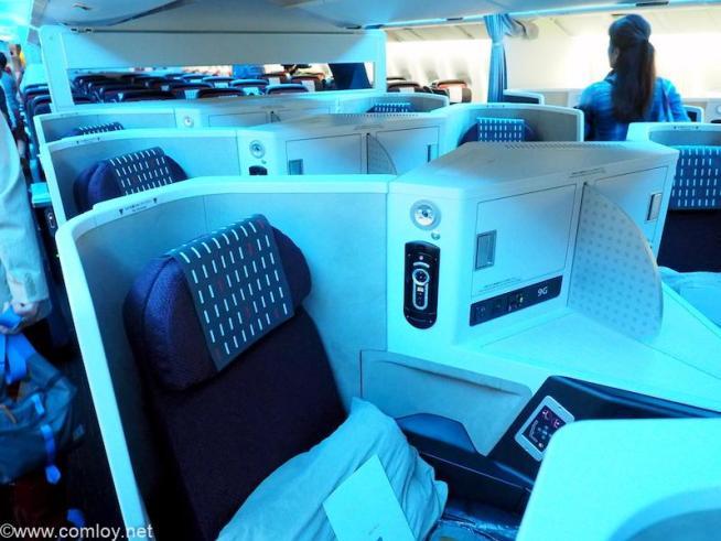 日本航空 JL26 香港 - 羽田 ビジネスクラス