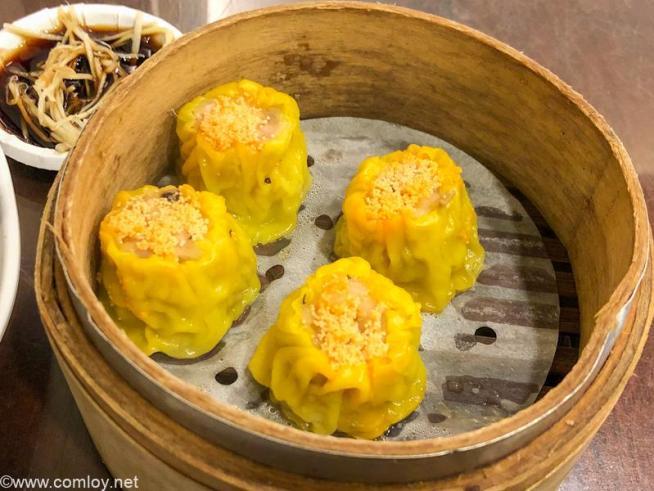 「杭州小籠包」蟹味噌焼売