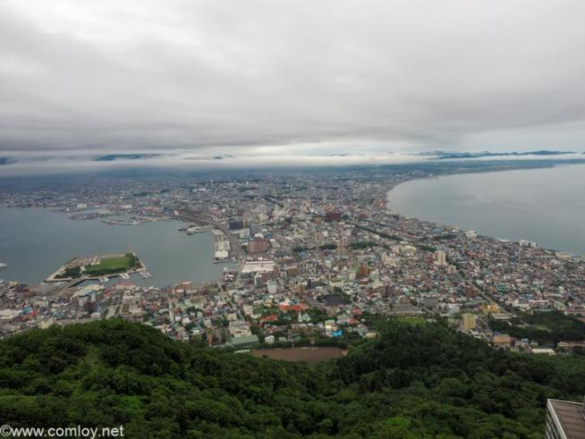 函館市内の景色