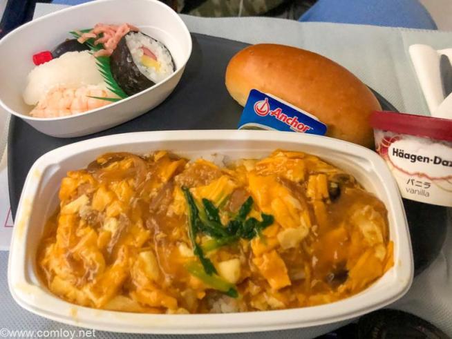 デルタ航空 DL180 成田 - ホノルル エコノミークラス 機内食