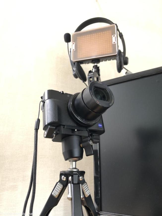 RX100M3 WEBカメラ化
