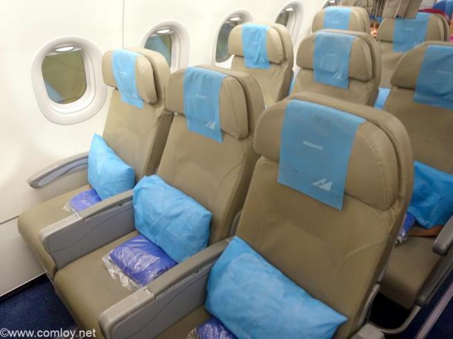 フィリピン航空 PR423 羽田 - マニラ プレミアムエコノミークラス