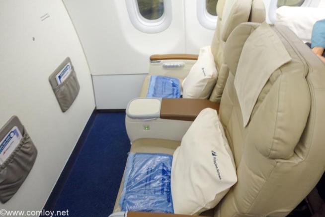 フィリピン航空 PR424 マニラ - 羽田 ビジネスクラス