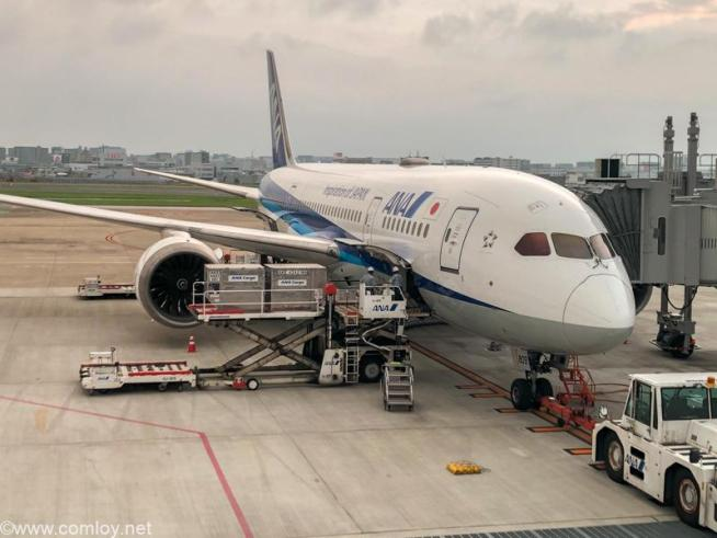 JA809A B787-8 Dreamliner Boeing787-8 Dreamliner 34494/47 2012/06