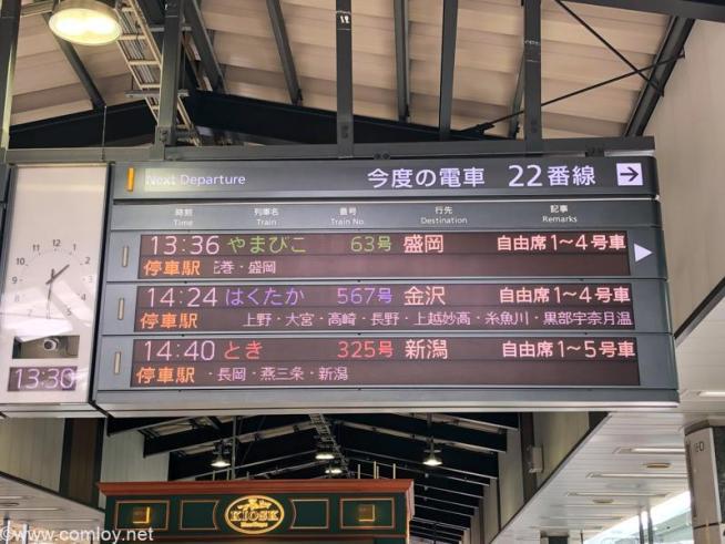 やまびこ63号(E5/H5系)(盛岡行)