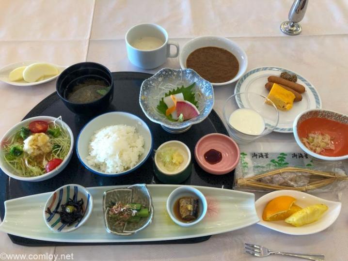 気仙沼プラザホテル 朝食
