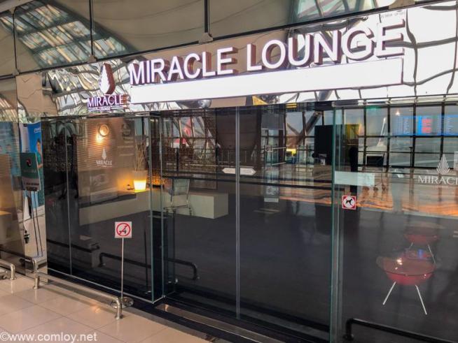 スワンナプーム国際空港 MIRACLE LOUNGE