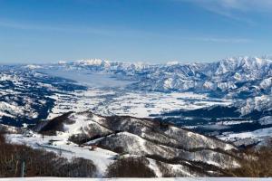 GALA湯沢 山頂からの風景
