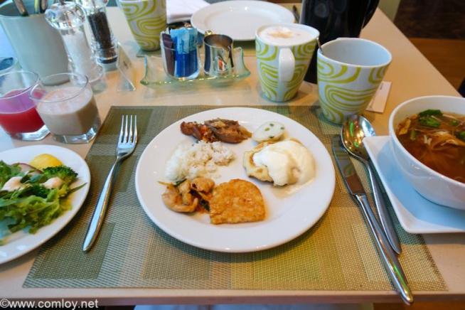 ザ ウェスティン グランデ スクンビット バンコク (The Westin Grande Sukhumvit, Bangkok) 1日目の朝食