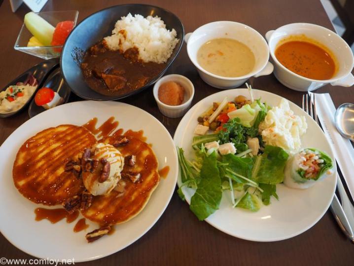 羽田空港 国際線ターミナル JALファーストクラスラウンジ 本日の朝食