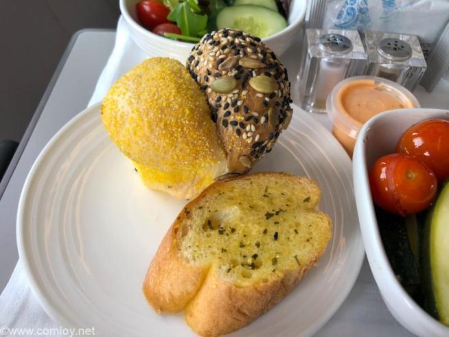 マレーシア航空 MH923 クアラルンプール - ジャカルタ ビジネスクラス機内食