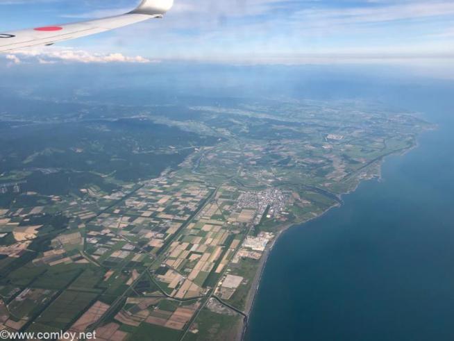 いつの間にか飛行機は北海道へ!