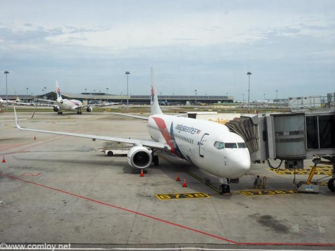 9M-MSG B737-800 Boeing737-8H6 40149/4574 2013/08〜
