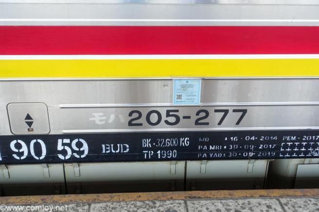 インドネシア モハ 205-277 JR東日本