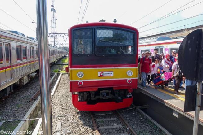 JR東日本 205系 インドネシア ボゴール