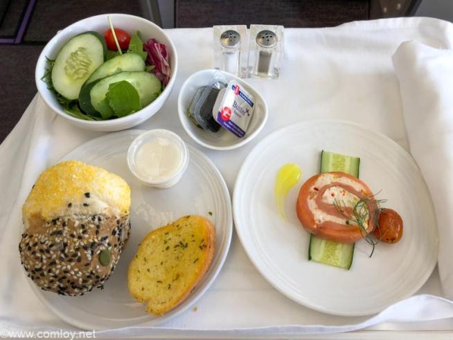 マレーシア航空 MH70 クアラルンプール - 成田 ビジネスクラス機内食