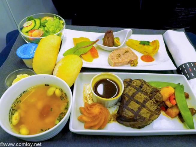 日本航空 JL99 羽田 - 台北(松山) 機内食