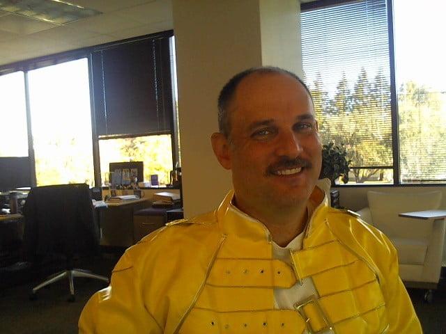 Me as Freddie Mercury