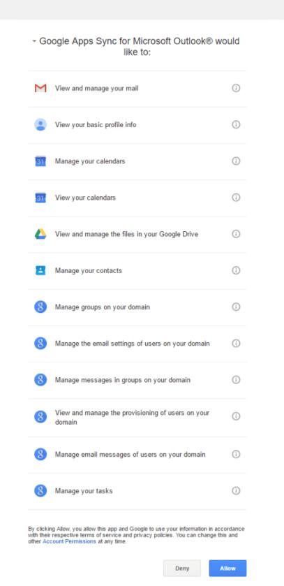GoogleOutlookSync