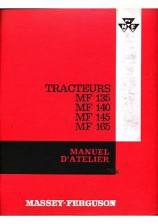 Massey-Ferguson MF 135 140 145 165 Manuel d'atelier