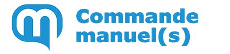 Commande manuel(s)