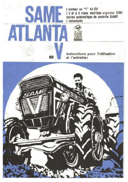 Same Atlanta manuel utilisateur