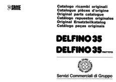 Same Delfino 35 Vues éclatées & Pièces