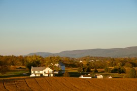 Mumma Farm, Antietam National Battlefield Park, Sharpsburg, Maryland, October 22, 2013