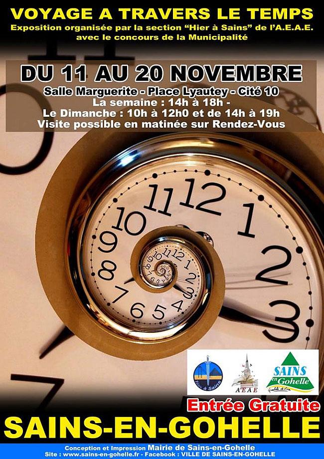 Voyage à Travers Le Temps : voyage, travers, temps, Voyage, Travers, Temps, 62114, Sains-en-Gohelle, Comme, France