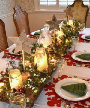 Table Noël traditionnelle