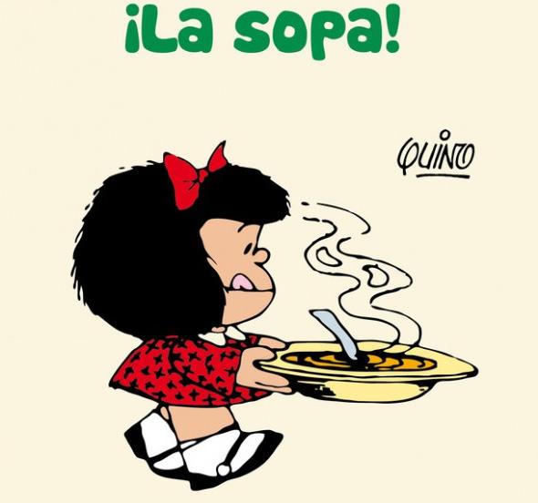 Mafalda y su sopa