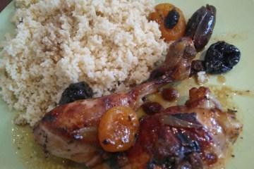 Cecilia y su Slow cooker: Receta de pollo con orejones, ciruelas y dátiles 10